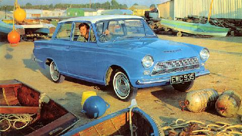 Ford GB Cortina  LF 1 (1963)