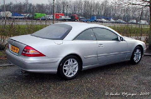Mercedes CL500 2000 Rear three quarter view