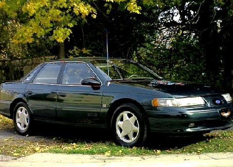 1993 Ford Taurus SHO Green FVr