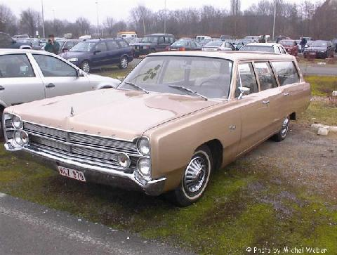 Plymouth Fury Station Wagon 1 (1967)