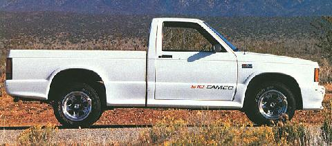 Pp >> Chevrolet S 10 Cameo (1989) - Picture Gallery - Motorbase