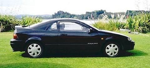 Toyota Cynos Paseo Coupe Black SVr   (1991)