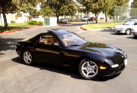 Mazda Rx 7 >> Mazda RX7 Black FVr (1993) - Picture Gallery - Motorbase