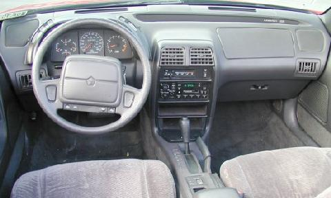 Chrysler Lebaron GTC Convertible Grey Interior   (1995)