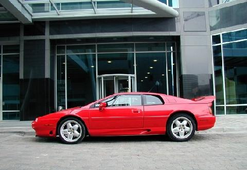 Lotus Esprit S4S Red SVl   (1995)