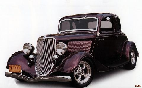 Ford 5Window Deluxe (1933)