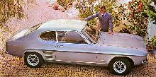 Ford EUR Capri 1600 Grey  LF 1 (1970)