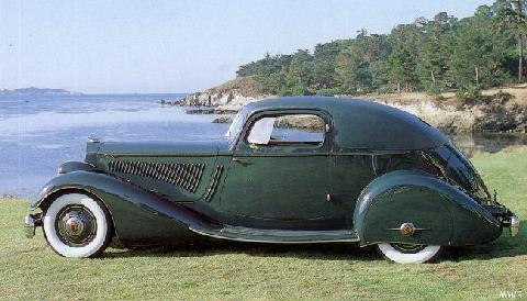 Packard Sport Coupe V12 Mwb  (1934)