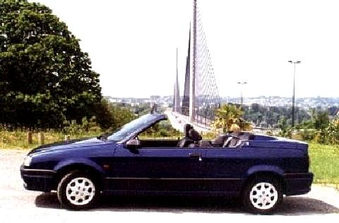 Renault 19 Convertible Blue SVl   (1996)
