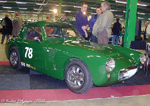 Austin Healey Sprite MK I 1961 Racing Conversion Front three quarter view