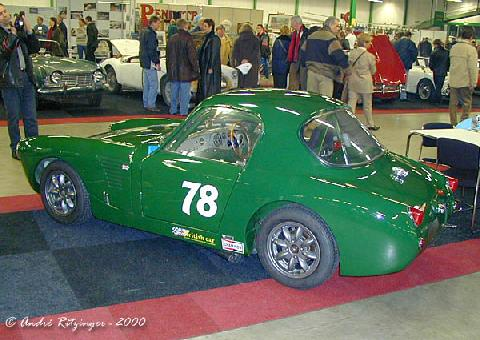 Austin Healey Sprite MK I 1961 Racing Conversion Side