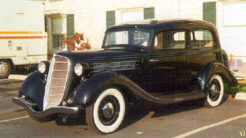 Terraplane Brougham 2 Door Sedan USA (1935)