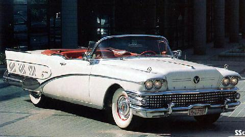 Buick Limited Convertible   01 (1958)
