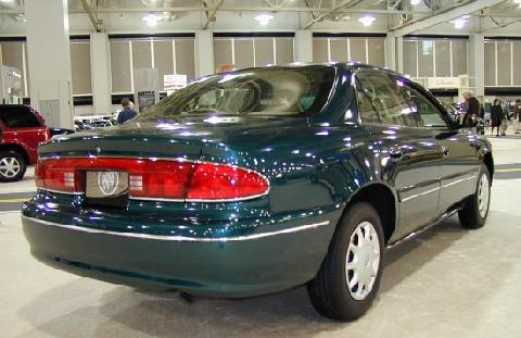 2000 Buick Century Custom Sedan Green Rvr Picture Gallery Motorbase