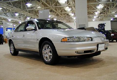 2000 Oldsmobile Intrigue Silver FVr