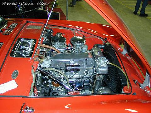 Sunbeam Alpine Series II 1960 Engine