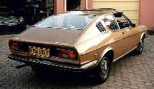 Audi Coupe, Gold, Rrquarter (1975)