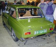 DAF 46 Super Luxe 1976 Rear three quarter view