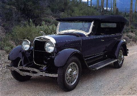 Lincoln 7Passenger Touring (1928)