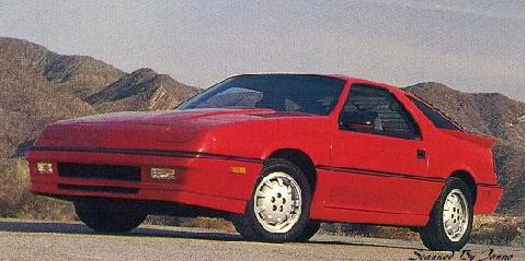Dodge Daytona Shelby Z (1988)