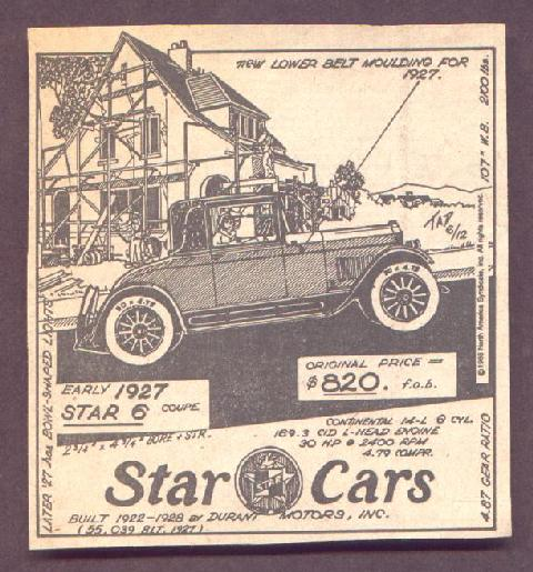 Wlhj Tad Burness 1927 Star 6