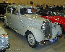 Mercedes 170 V 1948 Front three quarter view
