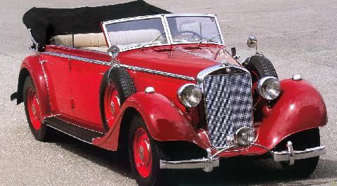 Mercedes Benz 320 Cabriolet D Double Stitch (1938)