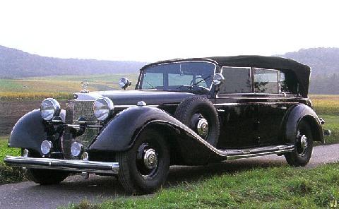 Mercedes benz 770k grosser open touring armored fvl 1938 for Mercedes benz us open