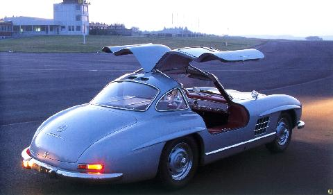 Mercedes Benz 300SL   Open RVr (1955)