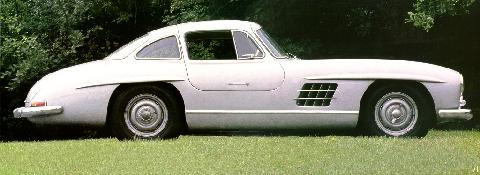 Mercedes Benz 300SL   SVr Stitched (1955)