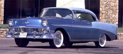 Chevrolet Bel Air Sport Coupe (1956)