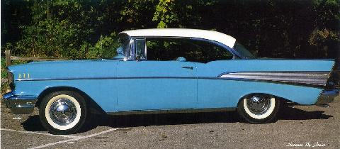 Chevrolet Bel Air Sport Coupe 04 (1957)