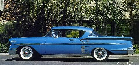 Chevrolet Bel Air Impala Coupe (1958)