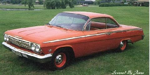 Chevrolet Bel Air Sport Coupe (1962)