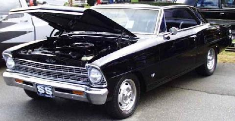 Chevy II 2dr Ht 122 (1967)