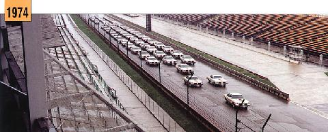 Hurst Oldsmobile Indy 500 Pace Car Fleet (1974)