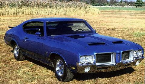 Oldsmobile Cutlass 442 (1971)