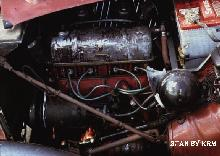 MG TD Engine View Krm (1953)