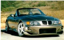 BMW Z3 Roadster Silver Tuned Front Kit