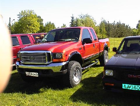 2000 Ford F 250 V10 SuperCab 2