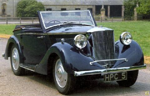 Railton Ten Little Fairmile Drophead Coupe England (1939)