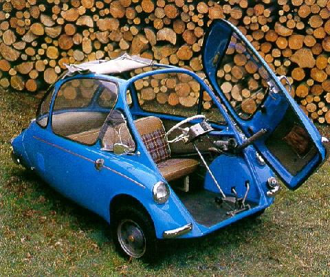 Heinkel Bubble Car Germany (1957)