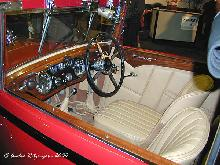 Alvis Speed Twenty Drophead Four Seater Coupe 1933 Interior