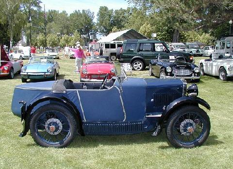 MG M Type Boattail Roadster Blue SVr   (1931)