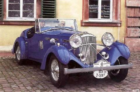 Railton Light Sport Mwb  (1937)