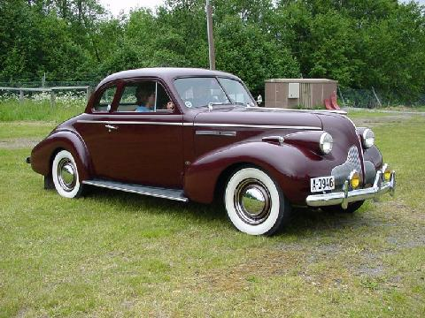 Buick Series 40 Special Co Mo Ro Vehicle Summary Motorbase