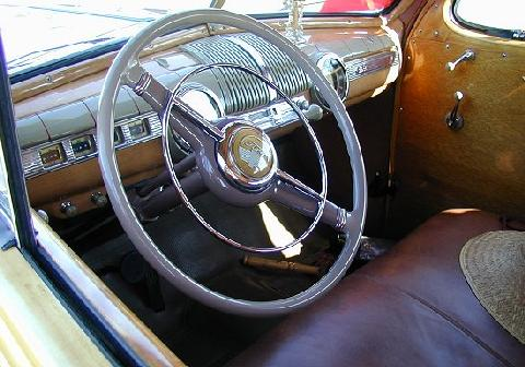 Ford Woodie Blue Dash   (1946)