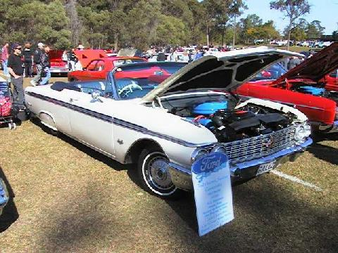 Ford Galaxy Sunliner Convertible Fs USA (1962)