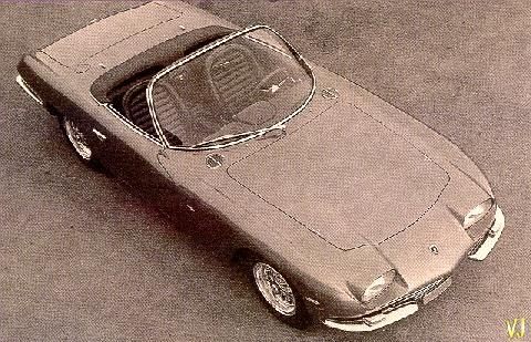 Lamborghini 350 GT Convertible By Touring (1965)