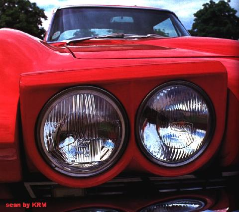 Corvette Sting Ray Coupe Headlight KRM (1967)